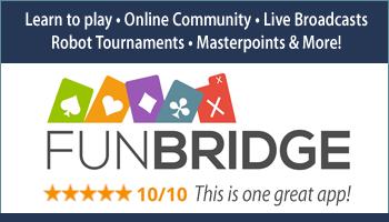 FunBridge Bridge App online club tournaments learn to play bridge