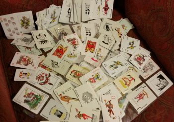 Collecting The Little Fool - Joker playing cards