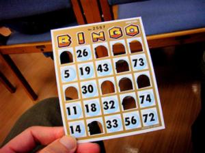 """Bingo"" (CC BY-SA 2.0) by chidorian"