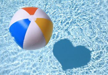 Beach Ball in Swimming Pool - Great Bridge Links