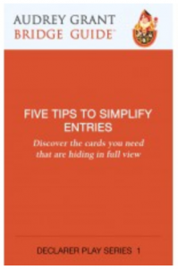 Five Tips to Simplify Entries - Great Bridge Links