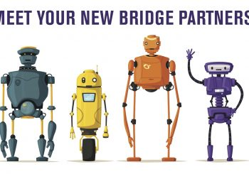 Play Robot Bridge on Funbridge