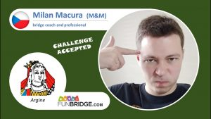Milan Macura plays on FunBridge