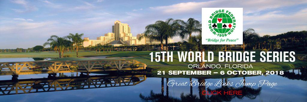 World Bridge Series 2018 Great Bridge Links Jump Page