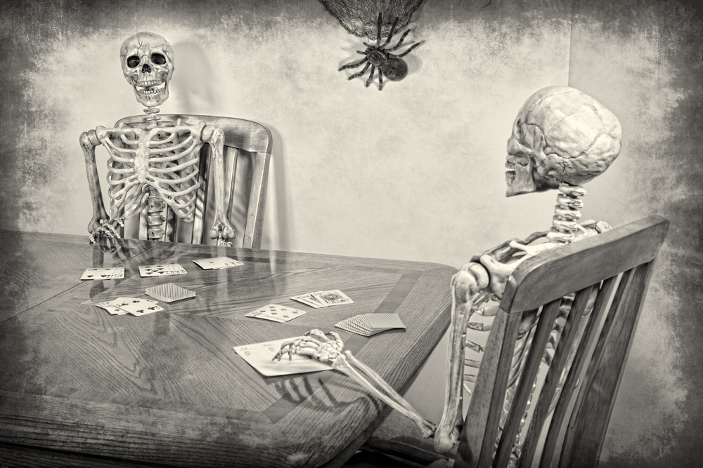Spooky Card Games