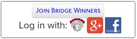 Bridge Blogging with Bridge Winners