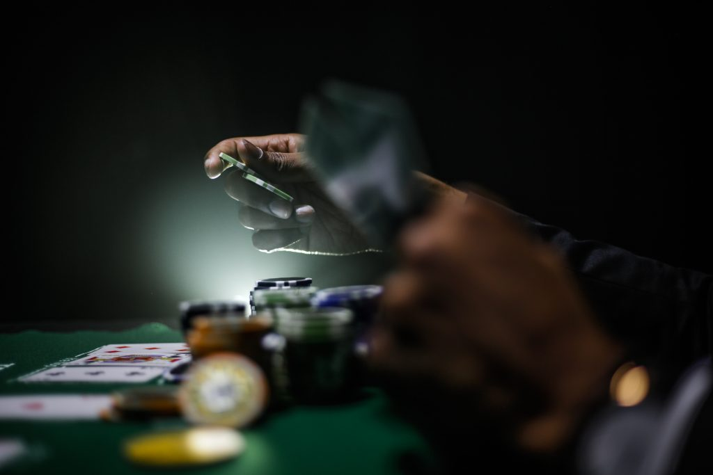 The Change-Up Play in Poker
