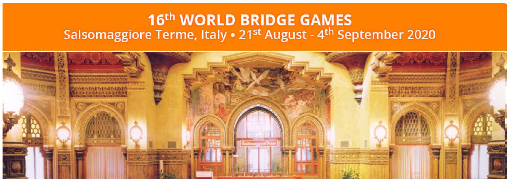 2020 World Bridge Games