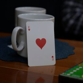 Coffee at the card table