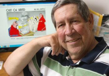Dr. Bill Buttle, Cartoonist