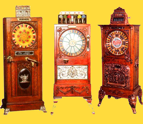 A Colourful History of Slot Machines