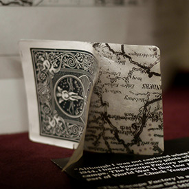 A Map Inside the Cards