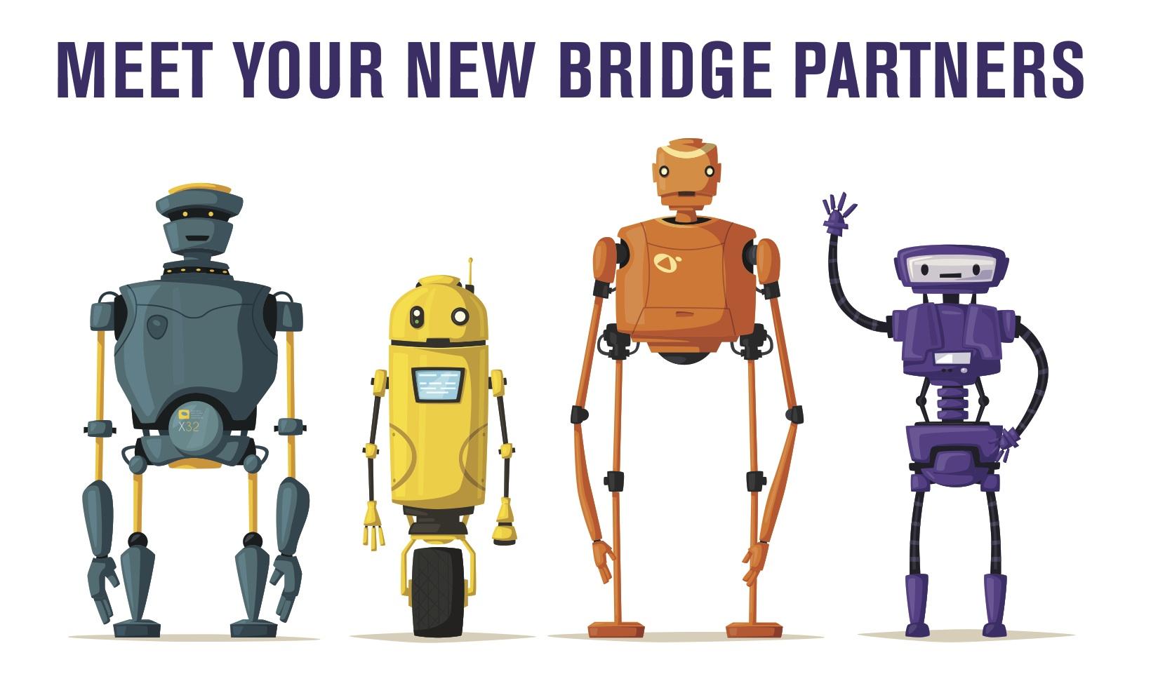 Play Robot Bridge on Funbridge