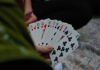 Bridge Size or Poker Size Playing Cards