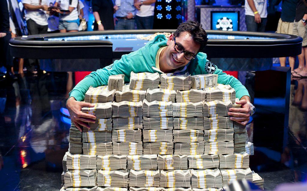 The Biggest Money Won in Poker