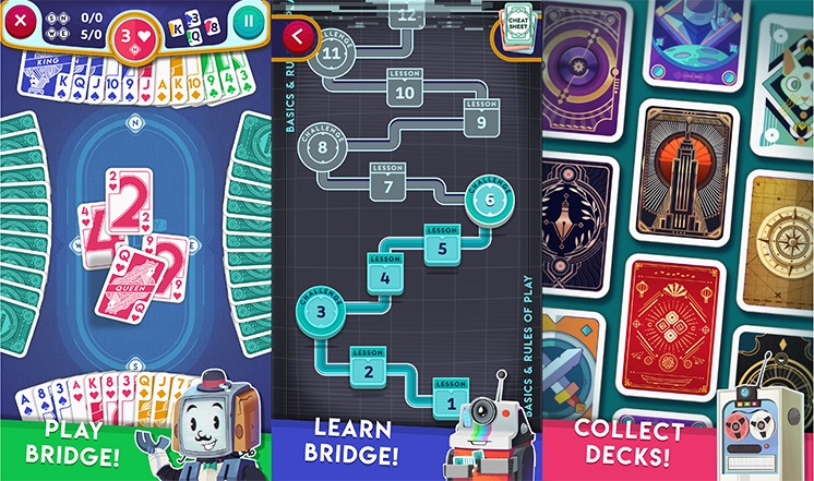 Tricky Bridge: A New Bridge-Playing App