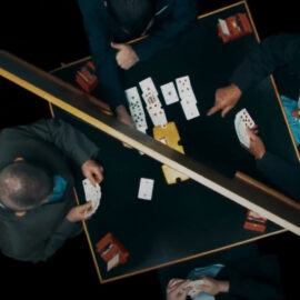Director Daniel Sivan examines a cheating scandal that rocked the world of elite competitive bridge, exposing that the world of elite competitive bridge exists